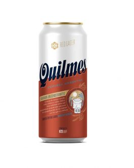 QUILMES RED LAGER LATA 473 X 6